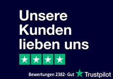 Das sagen unsere Kunden über uns bei Trustpilot: Gut! Dies ist bei 2382 Bewertungen ein sehenswertes Ergebnis und wir bedanken uns herzlich für Ihr Vertrauen. Wir freuen uns auch auf Ihren Besuch!ABC Arznei