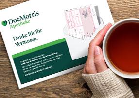 Rezeptpflichtiges bei DocMorris bestellendocmorris.de