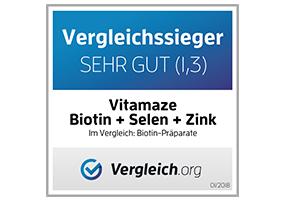 Ausgezeichnet: Vitamaze Biotin + Zink + Selen Vitamaze.shop | Amazing life