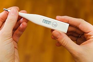 Erhöhte Temperatur: Warnsignal des Körpers