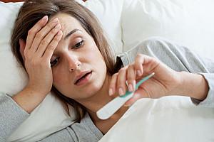Fieber bei Erwachsenen: Natürlich aber unangenehm