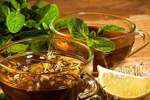 heilfasten mit tee und wasser