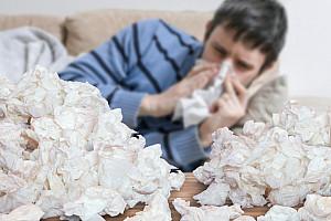 Chronischer Schnupfen: Permanent laufende Nase