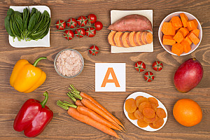 Vitamin A Mangel: Falsche Ernährung begünstigt Mangel