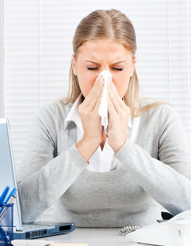 Symptom allergische Rhinitis