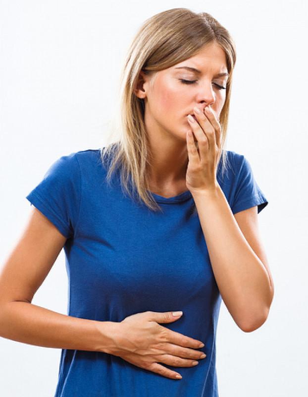 Übelkeit bei Bauchschmerzen