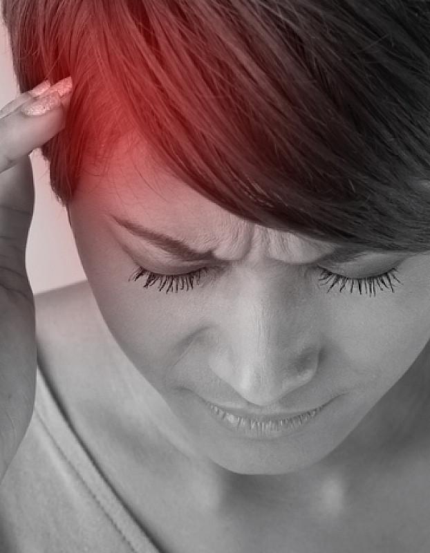 Kopfschmerzen in der Stirn