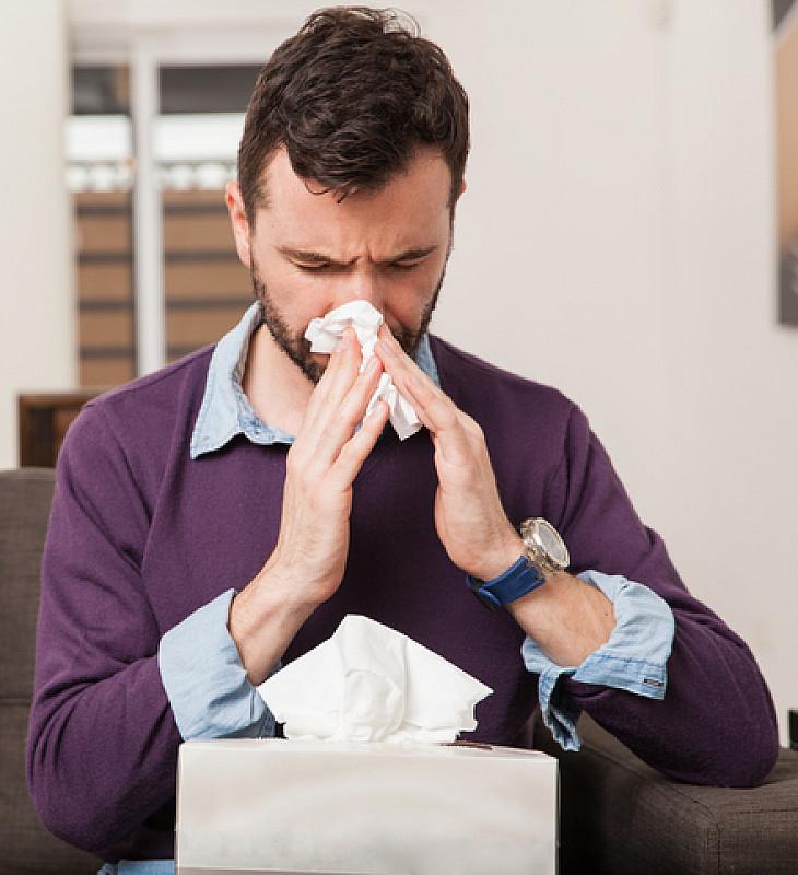 allergien auch zu hause auftreten