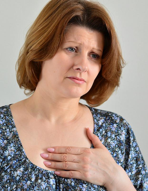 beim husten stechen in der linken brust