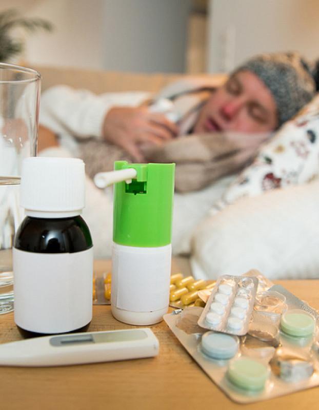 Behandlung von Grippe