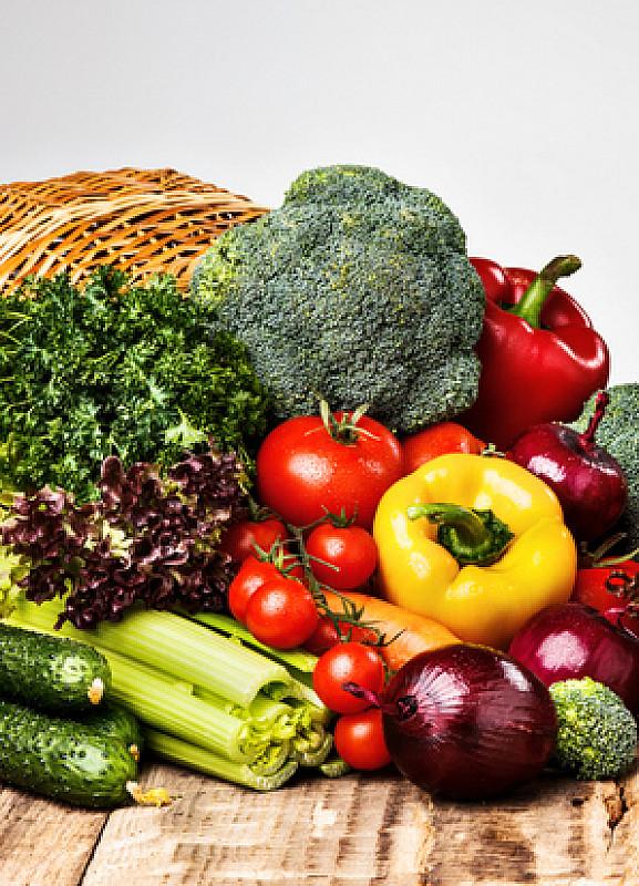 vitamine und gemüse