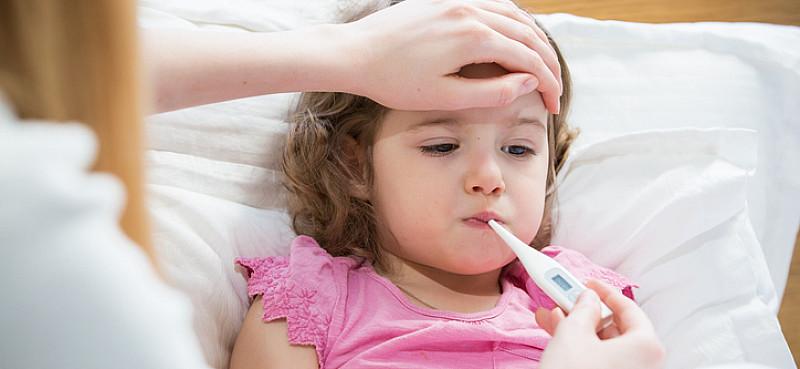 Drei Tages Fieber, Kindern helfen die Infektion zu überstehen
