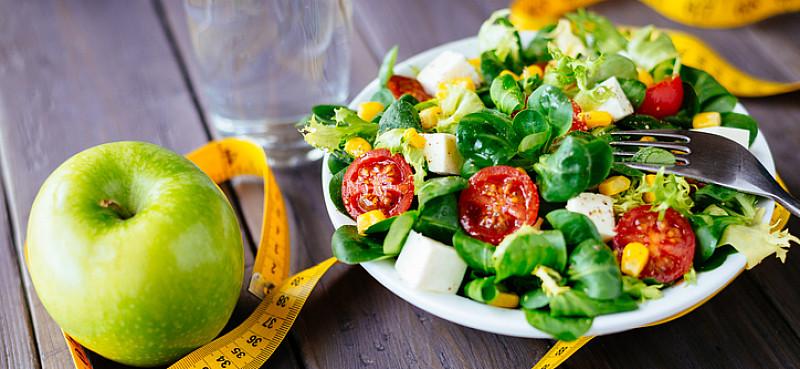 abnehmen druch gesunde ernährung