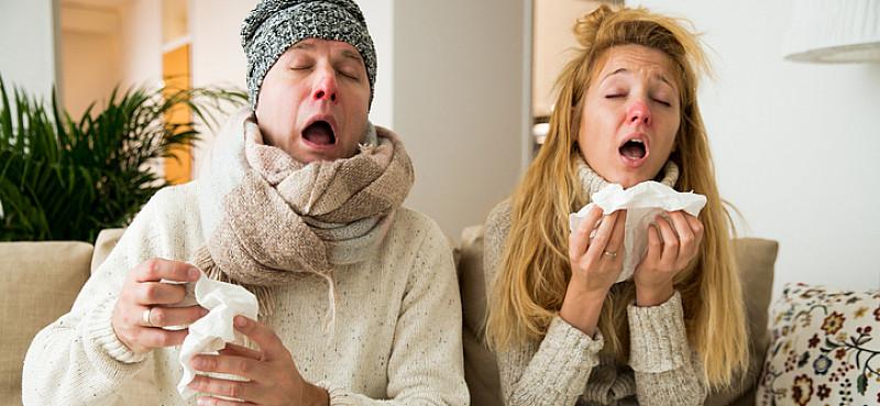 Grippe oder Erkältung Unterschiede