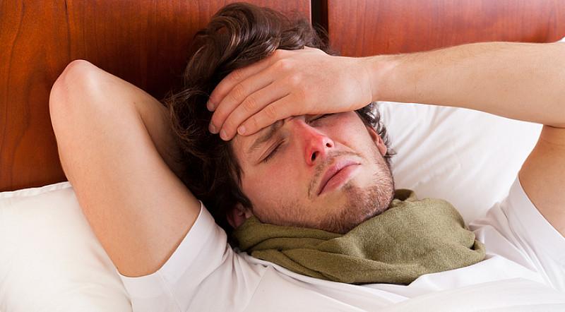 Symptom Kopfschmerzen Erkältung