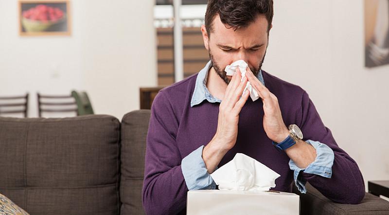Hausstauballergie: von Allergenen umgeben