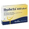 IBUBETA 400 akut Filmtabletten, 20 Stück, betapharm Arzneimittel GmbH