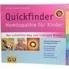 GU Homöopathie Quickfinder für Kinder, 1 ST, Gräfe und Unzer Verlag GmbH