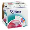 Cubitan Erdbeergeschmack Trinkflasche, 4X200 ML, Nutricia GmbH