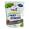metabolic POWER EIWEIß Schoko NOIR, 500 G, Forever Young GmbH