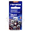 Batterien RENATA ZA312, 6 ST, Jauch Quartz GmbH