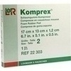 KOMPREX SCHAUMG GR 2 RECHT, 1 ST, Lohmann & Rauscher GmbH & Co. KG
