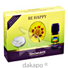 BE HAPPY SET Friedensduft mit Duftstein Smiley, 1 ST, Taoasis GmbH Natur Duft Manufaktur