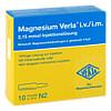 MAGNESIUM VERLA i.v./i.m., 10X10 ML, Verla-Pharm Arzneimittel GmbH & Co. KG