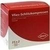SCHLITZKOMPRESSE Vlies 5x5cm 4fach steril Ausbütte, 25X2 ST, Dr. Ausbüttel & Co. GmbH