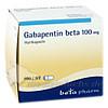 Gabapentin beta 100mg Hartkapseln, 100 Stück, betapharm Arzneimittel GmbH