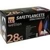WELLION Lanzetten Safetylancets 28 G, 200 ST, Med Trust GmbH