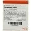 SANGUINARIA INJEEL Ampullen, 10 ST, Biologische Heilmittel Heel GmbH