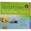 GU Quickfinder Schüßler Salze, 1 ST, Gräfe und Unzer Verlag GmbH