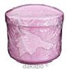 Gebissdose rosa mit Einsatz und Deckel, 1 ST, Careliv Produkte Ohg