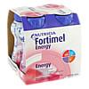 Fortimel Energy Erdbeergeschmack, 4X200 ML, Nutricia GmbH