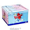 Q-tips Baby-Pflegestäbchen Boys & Girls Würfelbox, 64 ST, W. Pelz GmbH & Co. KG