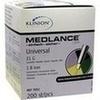 KLINION Medlance plus Universal Lanzetten 21 G, 200 ST, eu-medical GmbH