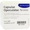 CAPSULAE Operculatae Kapseln Nr.000 1,37, 100 ST, Pharmapol Arzneimittelvertrieb-GmbH