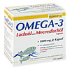 Omega-3 Lachsöl und Meeresfischöl Kapseln, 100 ST, Burton Feingold