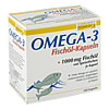 Omega 3 Fischöl Kapseln, 100 ST, Burton Feingold