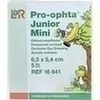 Pro-ophta Junior Mini Okklusionspflaster, 5 ST, Lohmann & Rauscher GmbH & Co. KG