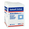 Cutisoft Cotton Kompressen 10x10cm unsteril, 100 ST, Bsn Medical GmbH