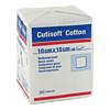 Cutisoft Cotton Kompressen 10x10cm unsteril, 100 ST, Bsn Medical GmbH