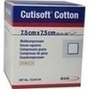 Cutisoft Cotton Kompressen 7.5x7.5cm steril, 25X2 ST, Bsn Medical GmbH