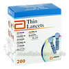 ABBOTT Thin Lancets, 200 ST, Abbott GmbH & Co. KG Abbott Diabetes Care