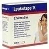 LEUKOTAPE K 2,5 cm hautfarben, 1 ST, BSN medical GmbH