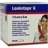 Leukotape K 7.5cm rot, 1 ST, Bsn Medical GmbH