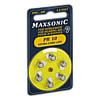 Batterie für Hörgeräte MAXSONIC PR10, 6 ST, Vielstedter Elektronik