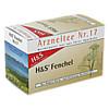 H&S FENCHELTEE UNGEMISCHT, 20 ST, H&S Tee - Gesellschaft mbH & Co.