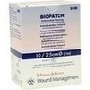 BIOPATCH Antimikrob.Wundauflage 2,5cm+4,0mm zen., 10 ST, Johnson & Johnson MEDICAL GmbH